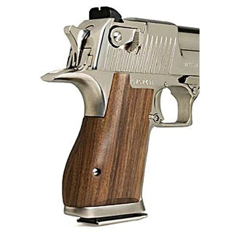 Desert-Eagle Magnum Research Desert Eagle Wood Grips.