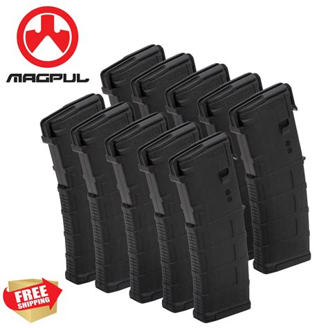 Magpul 30 Rd Magazines 10 Pack