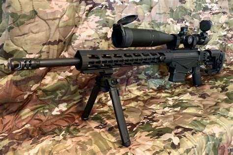 Magpul Bipod On Ruger Precision Rifle