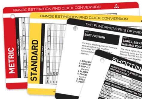 Magpul Core Quickreference Rifle Cards Cabela S