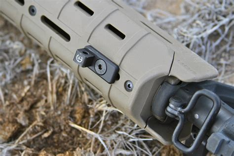 Magpul Handguard Moe Mlok Attaching Bipod And Magpul Hunter American Stock For Ruger American