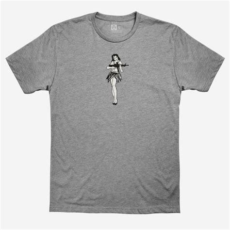 Magpul Hula Girl Cvc Tshirts Hula Girl Cvc Tshirt 2x Charcoal