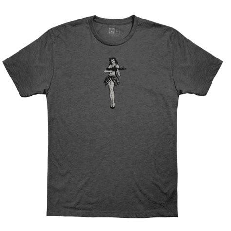 Magpul Hula Girl Cvc Tshirts Hula Girl Cvc Tshirt Xlarge Charcoal