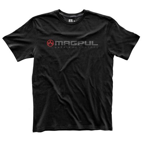 Magpul Mens Fine Cotton Unfair Advantage Tshirts Fine Cotton Unfair Advantage Tshirt Black Small