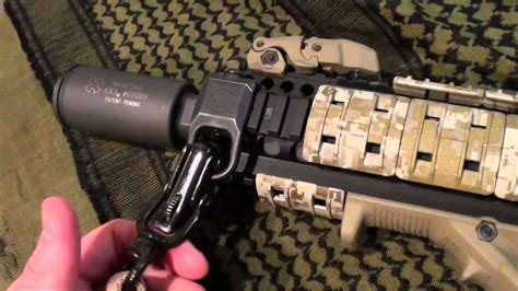 Magpul Rsa Ms2 Sling Attachment Review Afg2 Ar15 Rail