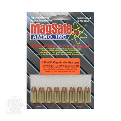 Magsafe Ammo 380 52 Grain Review