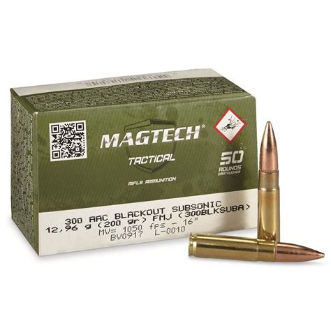Magtech 300 Aac Ammo Review