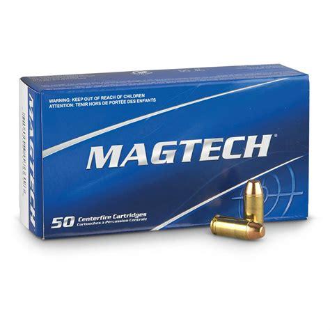 Magtech 9mm Ammunition 50 Rounds FMJ 115 Grains