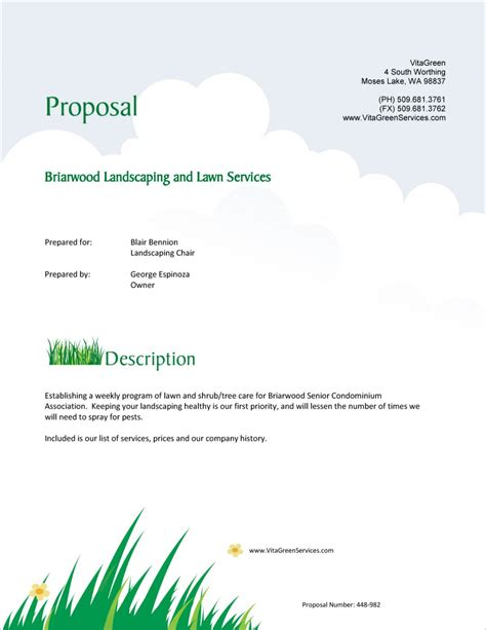 Maintenance Proposal Template CV Templates Download Free CV Templates [optimizareseo.online]