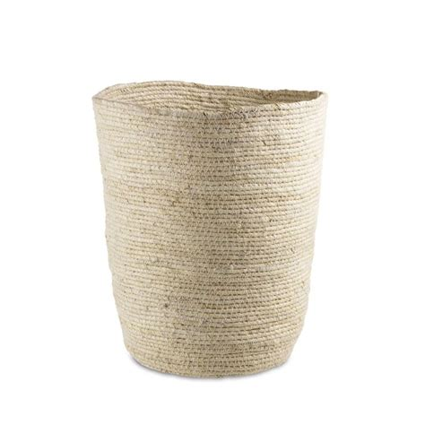 Maiz Wicker Waste Basket