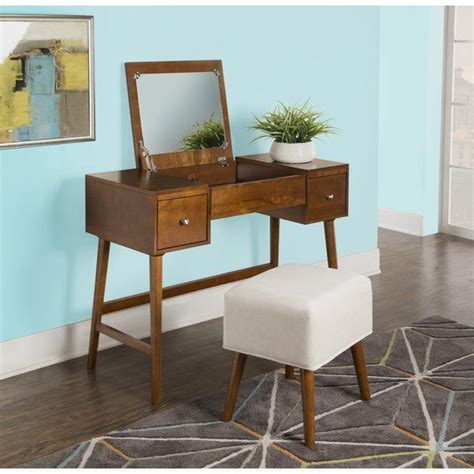 Makayla Vanity Set with Mirror