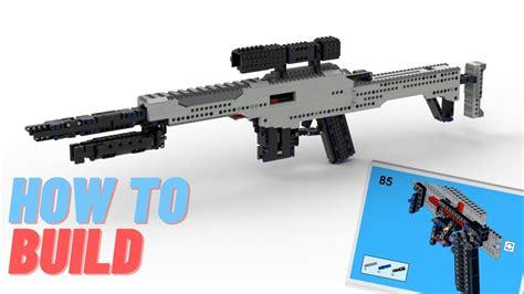 Make A Lego Sniper Rifle