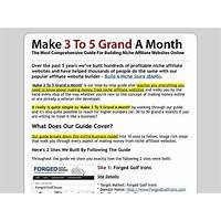 Coupon code for make 3 to 5 grand a month