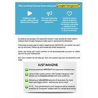 Make money doing webinars with google hangout on air free tutorials