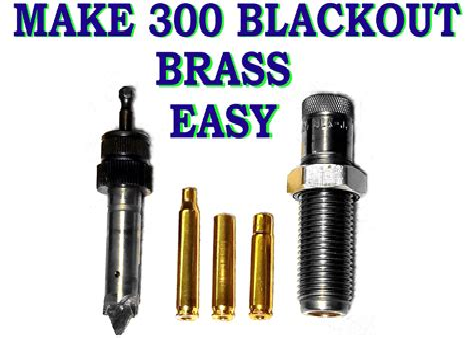 Making 300 Aac Brass