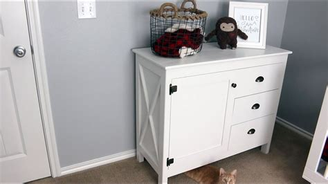 Making a dresserchanging table combo for our nursery vqc Image