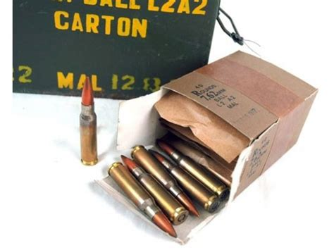 Malaysian 7 62 Nato 308 147gr Fmj Ball Ammo