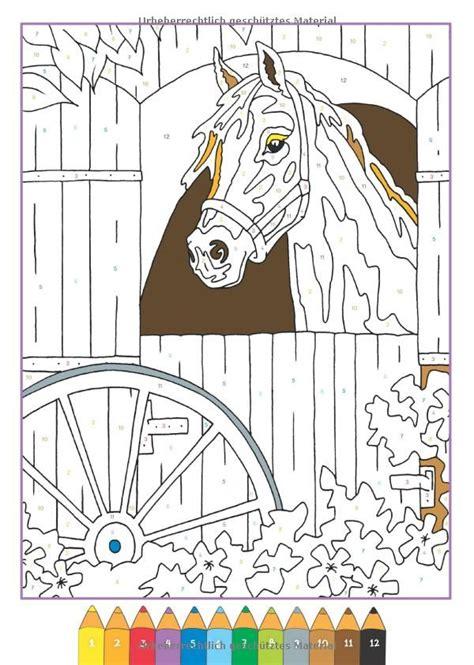 Malen Nach Zahlen Pferde Ausmalbilder