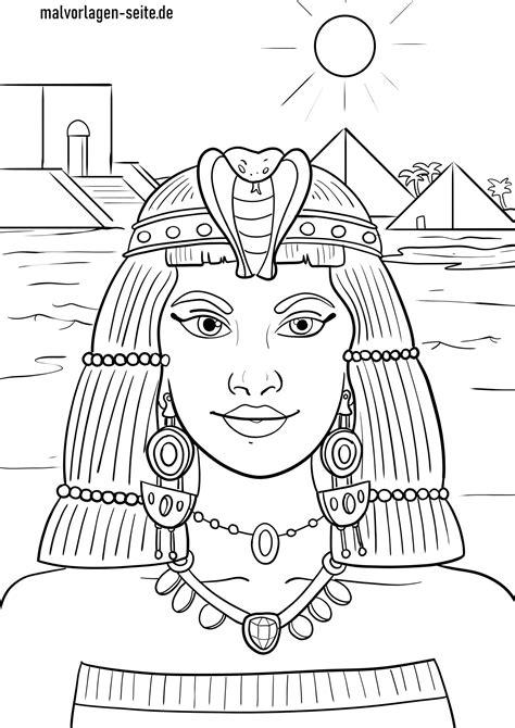 Malvorlage ägypten