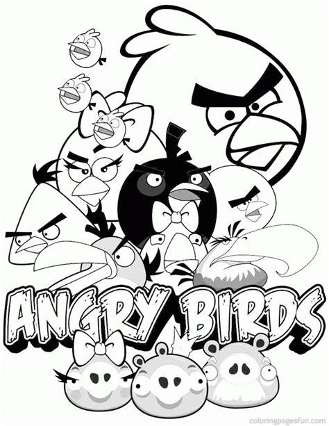Malvorlage Angry Birds