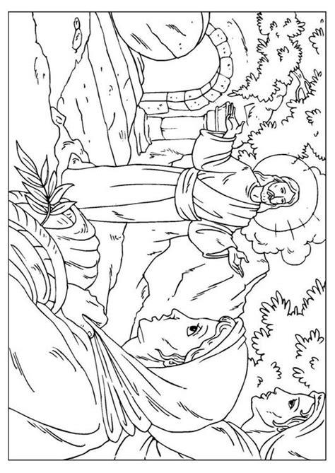 Malvorlage Auferstehung
