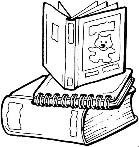 Malvorlage Bücher