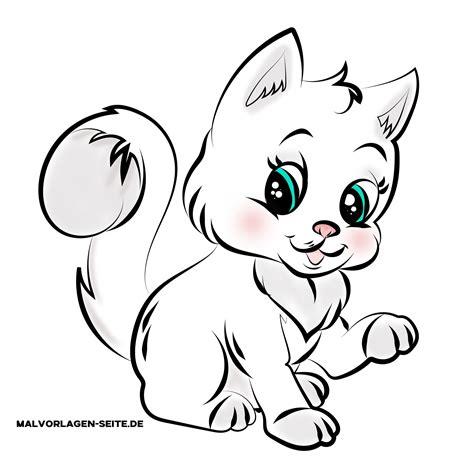 Malvorlage Baby Katzen