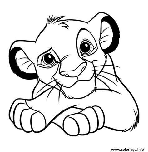 Malvorlage Baby Löwe