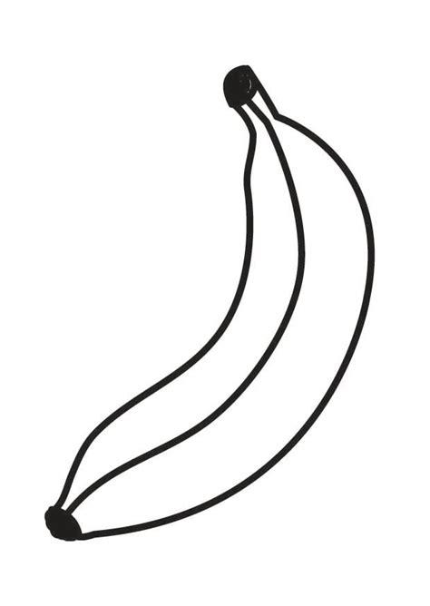 Malvorlage Banane