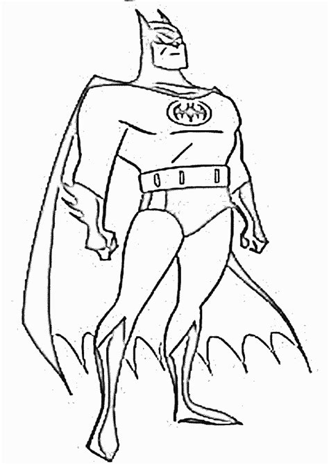 Malvorlage Batman