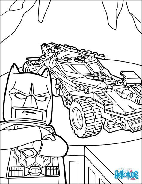Malvorlage Batman Lego