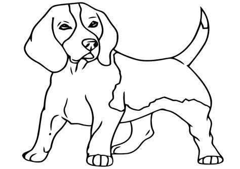 Malvorlage Beagle