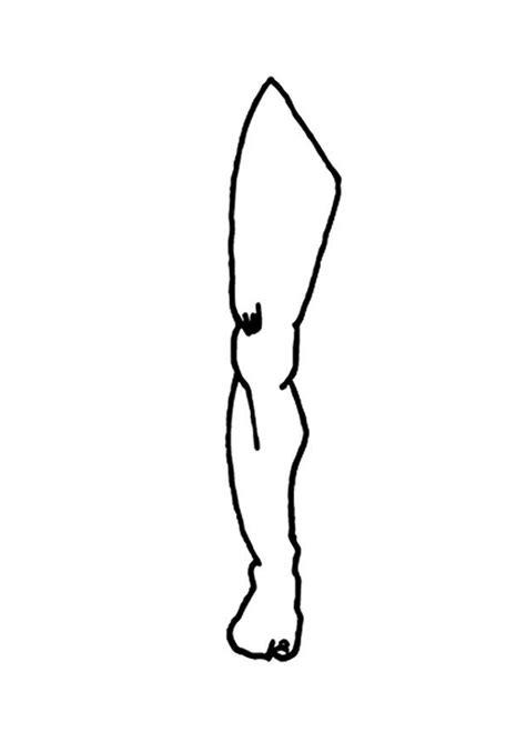 Malvorlage Bein