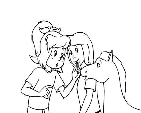 Malvorlage Bibi Und Tina Pferd