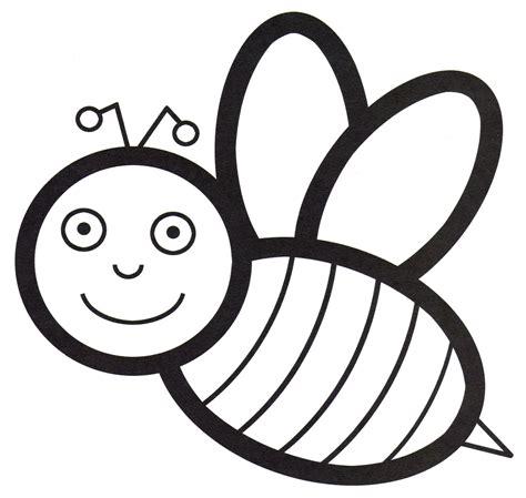 Malvorlage Biene Einfach