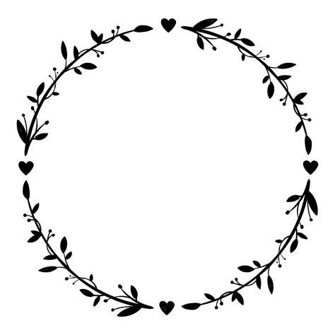 Malvorlage Blumenkranz