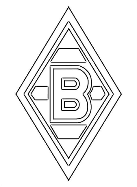 Malvorlage Borussia Mönchengladbach
