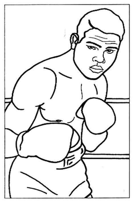 Malvorlage Boxer