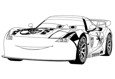 Malvorlage Cars 2 Kostenlos