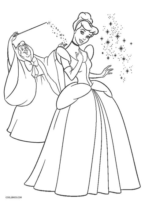 Malvorlage Cinderella