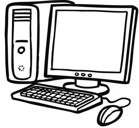 Malvorlage Computer