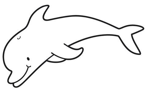 Malvorlage Delfin Einfach