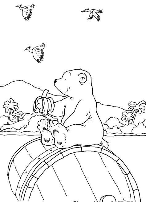 Malvorlage Der Kleine Eisbär
