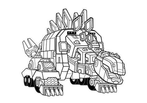 Malvorlage Dino Trucks