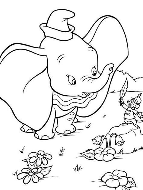 Malvorlage Dumbo