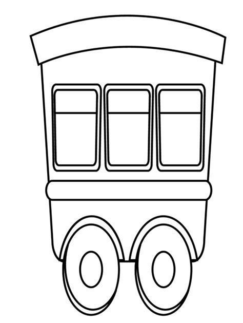 Malvorlage Eisenbahnwaggon