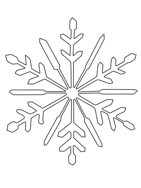 Malvorlage Eiskristall