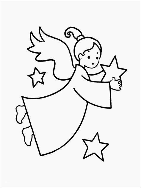 Malvorlage Engel Weihnachten