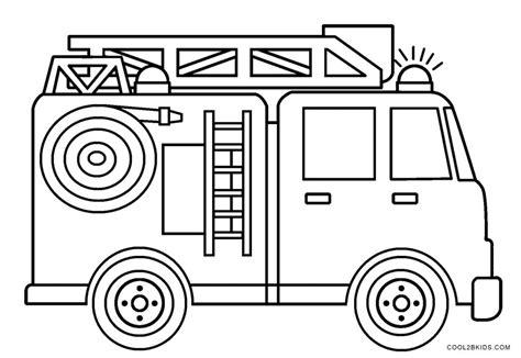 Malvorlage Feuerwehrauto Kostenlos