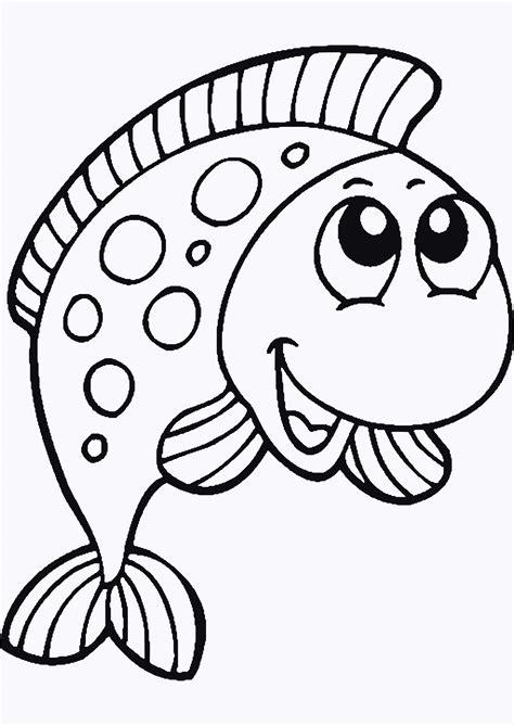 Malvorlage Fische Zum Ausdrucken